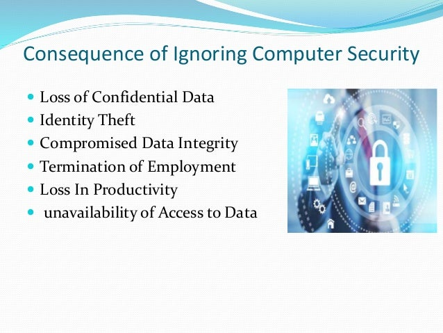 An introduction to the importance of computer security