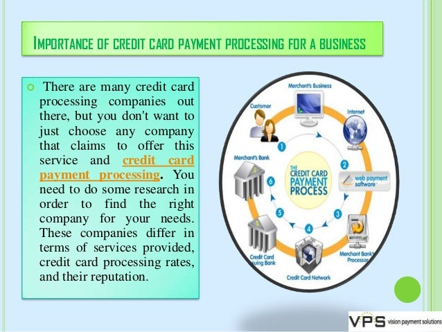 Importance of credit card payment processing for a business 2 importance of credit card payment processing for a business reheart Gallery