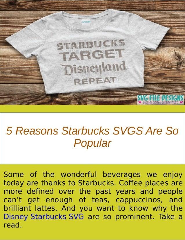 Importance Of Disney Starbucks Svg