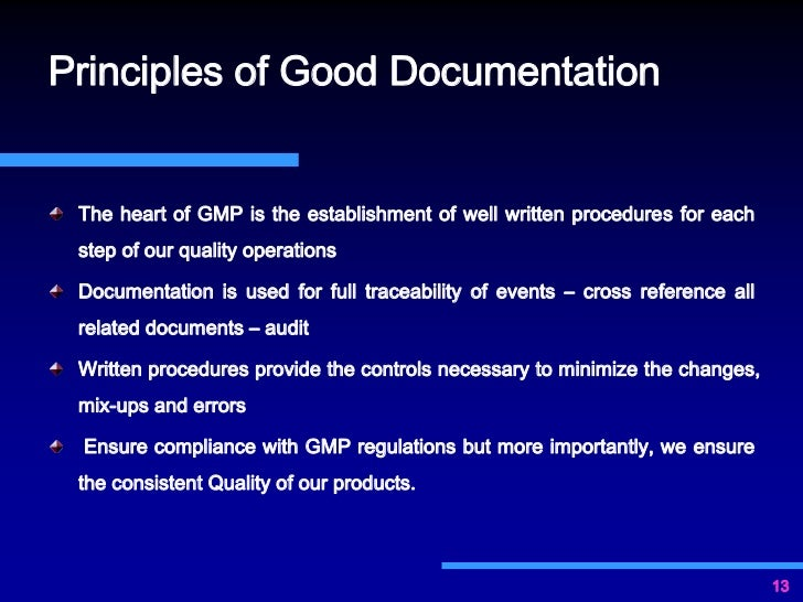 the importance of documentation 3 overview of documentation why is documentation important a company is only as good as its documentation key players in the international transaction.