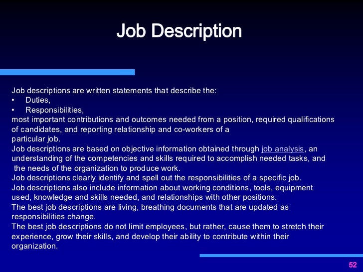 job descriptionjob descriptions - Controls Technician Job Description