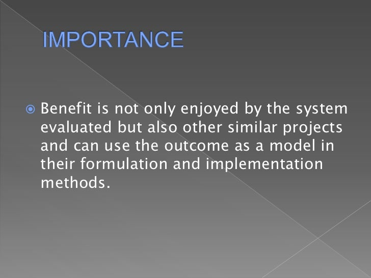 how important are system analysis and Systems analysis and design/introduction defining the scope of the problem is also important in this stage as business needs are studied with the intention of making business processes more efficient the system analysis phase focuses on what the system will do in an effort that.