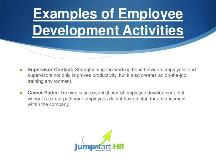 Examples Of Employee Development ...  Employee Development Plan Template