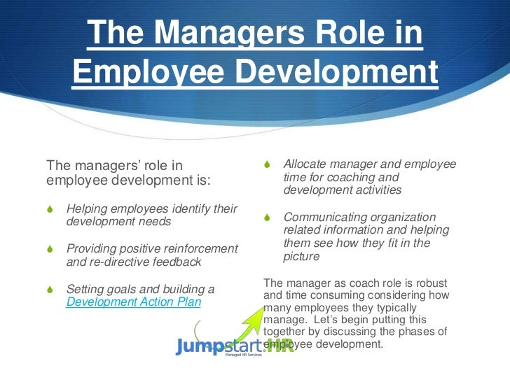 Employee Development Plan - Template