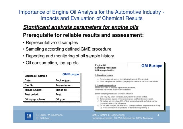 Why Oil Analysis Is Important
