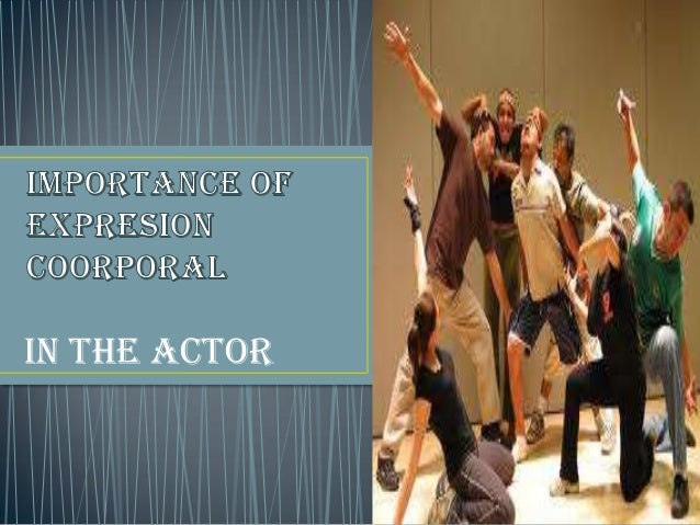 IN THE ACTOR