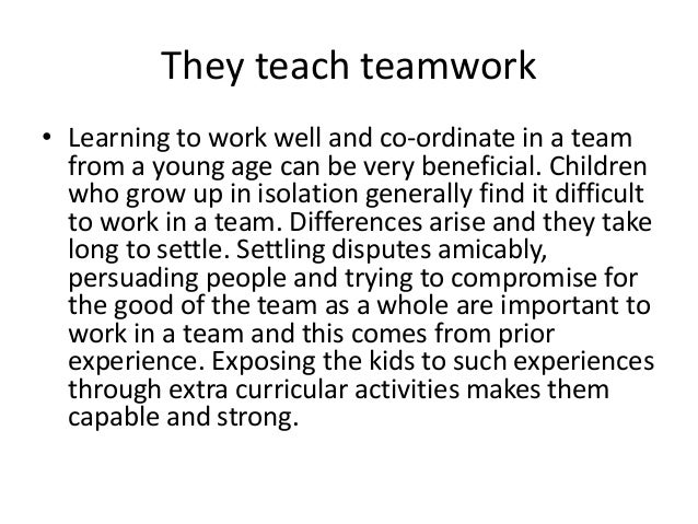 importance of extracurricular activities Allowing your child to get involved in extracurricular activities at school is a wise choice, and it can be very important in helping them to develop many working skills, people skills, and more extracurricular school activities and the benefits - homeschooling, education, learning and reading resources.