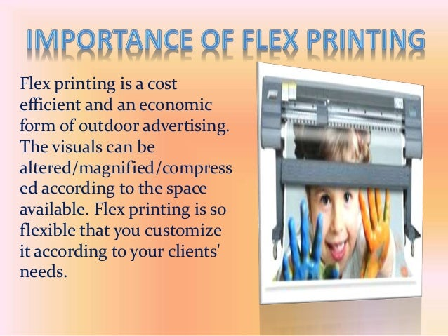 Lets Know About The Importance Of Flex Printing
