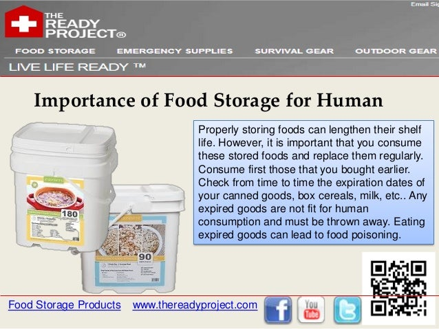Importance of food storage for humans food storage products thereadyproject 10 sciox Choice Image