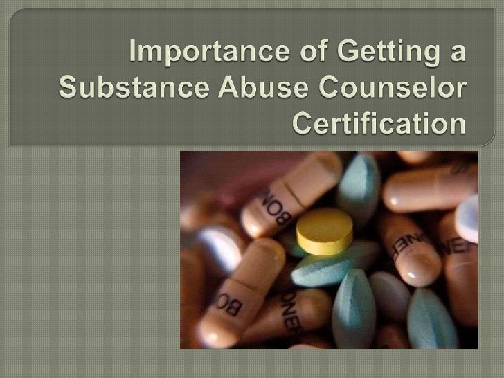 The National Board for Certified Counselorshas a platform which issues substance abusecounselor certification. People hold...