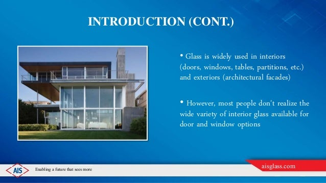 Importance Of Glass Doors And Windows