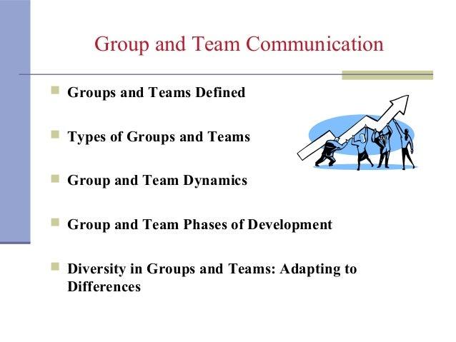 importance of group communication