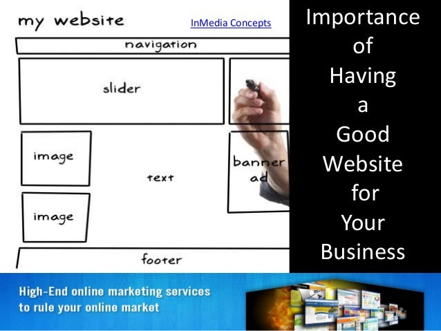 InMedia Concepts Importance of Having a Good Website for Your Business
