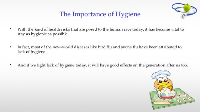 importance of cleanliness and hygiene Health is more important than success and wealth  and products with cleanliness and hygiene functions.