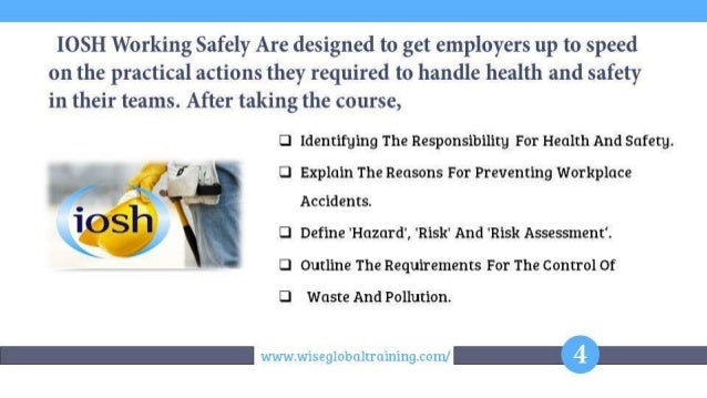 the role of health and safety Roles, ratios and ofsted inspection of health and safety ofsted inspection of health and safety ref: 5569 about the key for school leaders start a free trial.