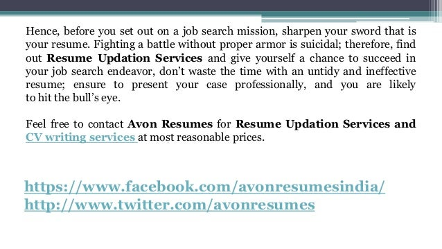 Resume writing service providers