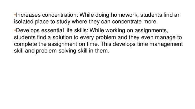 essential of homework