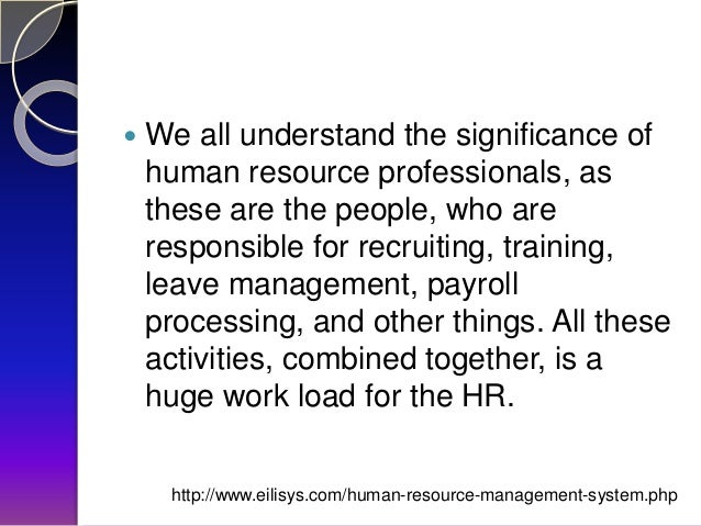importance of human resource management pdf