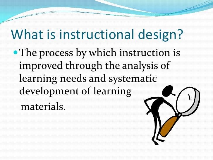 Importance Of Instructional Design For Teachers