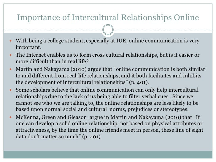 culture communication and intercultural relationships dating