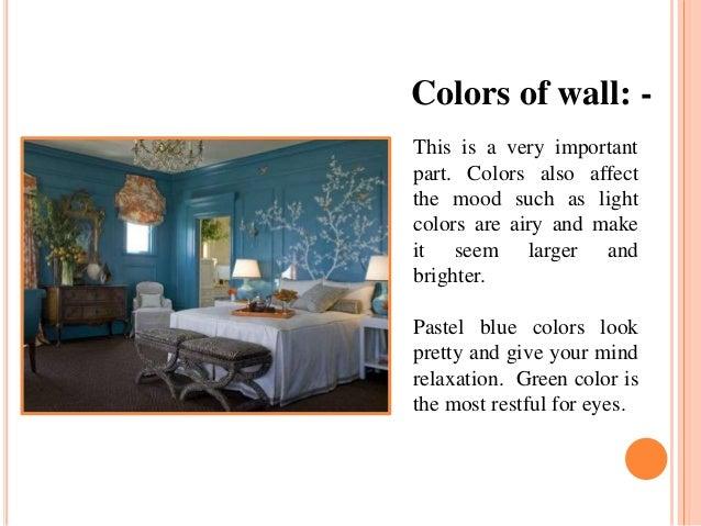color in interior design slideshare