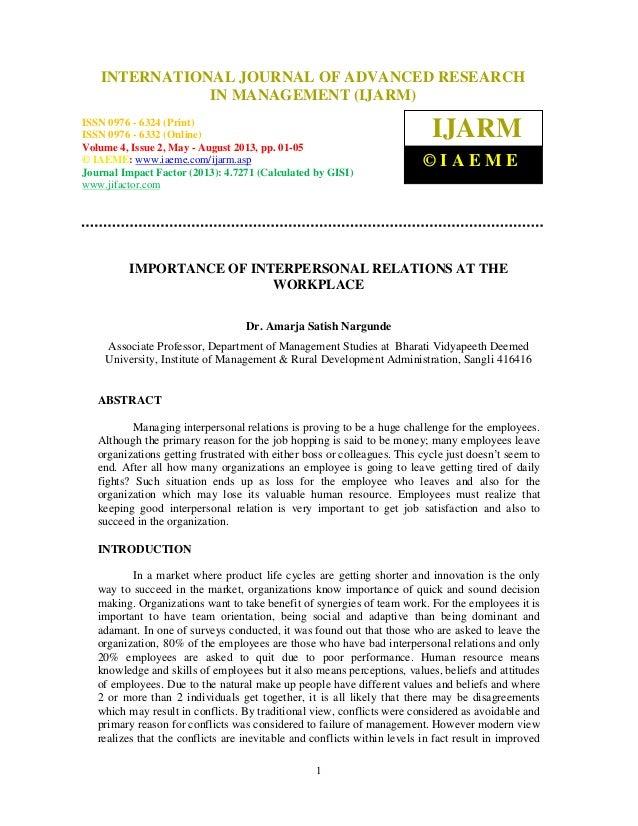 International Journal of Advanced Research in Management (IJARM), ISSN 0976 – 6324(Print), ISSN 0976 – 6332 (Online), Volu...