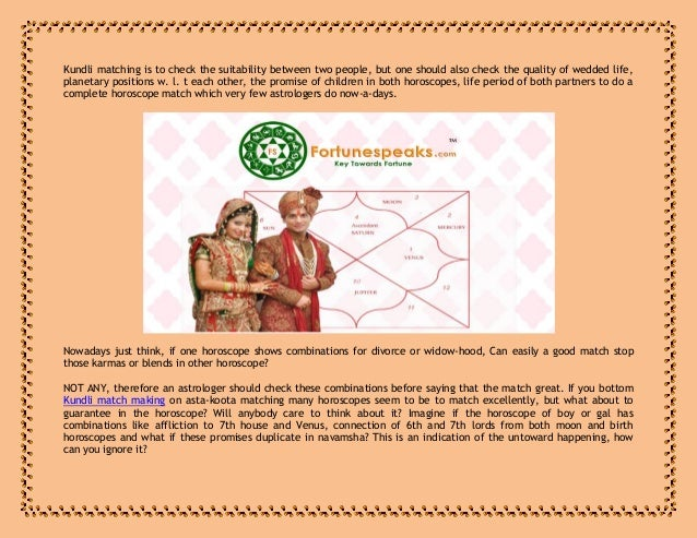Horoscope Matching Kundali Matching Marriage Matching Free Matchmaking