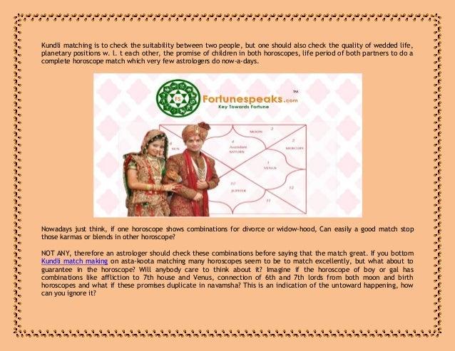 Match making hindi kundli