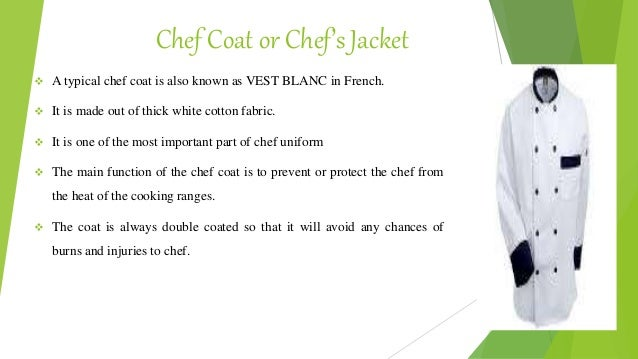 What Are Chef Presentation & Uniform Requirements?