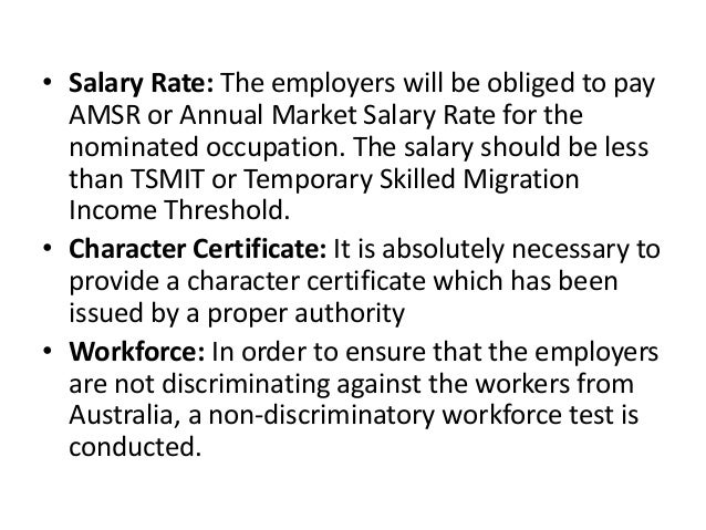 Importance of Labour Market Testing for TSS 482 Visa