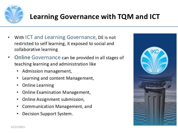 Teaching Collaborative Governance ~ Importance of learning governance in distance education by