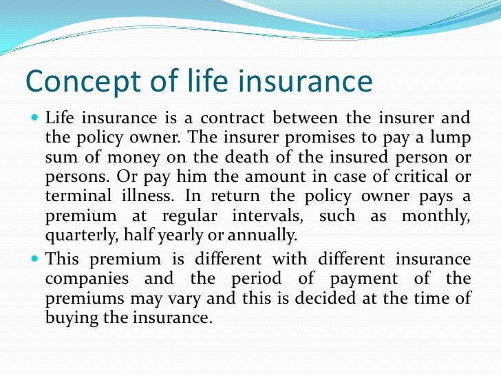 the importance of life insurance and The important principle of insurance are as follows: the main motive of insurance is cooperation insurance is defined as the equitable transfer of risk of loss from one entity to another, in exchange for a premium nature of contract is a fundamental principle of insurance contract an insurance.