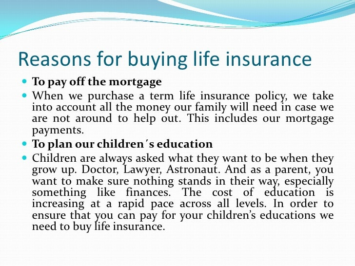 the importance of life insurance and Note: this is from a post charlie wrote a couple of years ago that has been  updated and revised with new information this past weekend our.