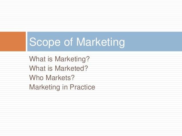 Importance of marketing Slide 3