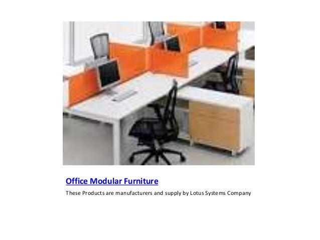 Importance of modular office furniture in office