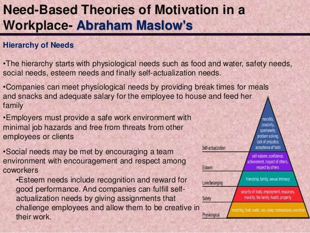 role of pscyhology and theory based There are many different theories of motivation in educational psychology, we focus specifically on motivation for learning rather than for behavior.