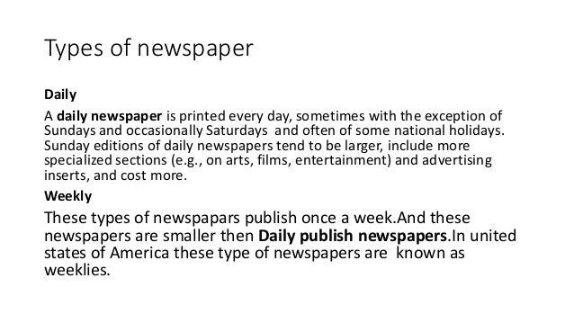 importance of newspaper in education