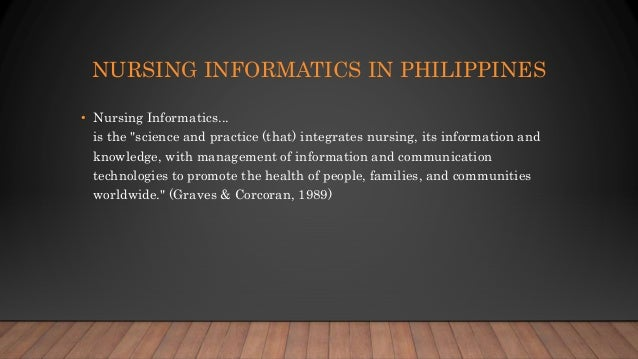 why is nursing informatics important