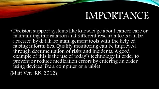 the impact and importance of technology on healthcare Information technology impact on the healthcare industry one impact is of fundamental importance to integrated healthcare networks what we do we can help.