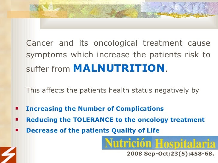 Importance Of Nutrition In Cancer Patients