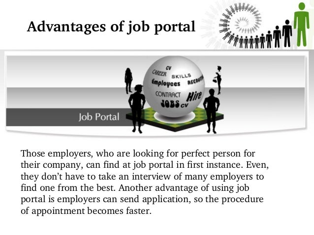 Importance of online job portal development for employees and employe…