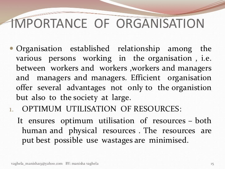 why organizational structure is important 5 important organizational success measures  why are these measures important financial viability is important for organizational survival and growth.