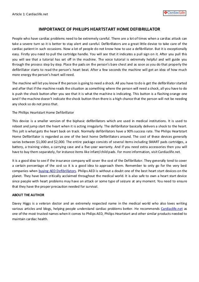philips heartstart home defibrillator | Taraba Home Review