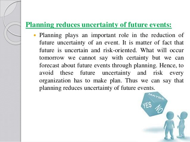 what is the importance of planning