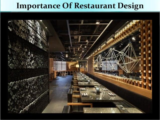 Importance of restaurant design