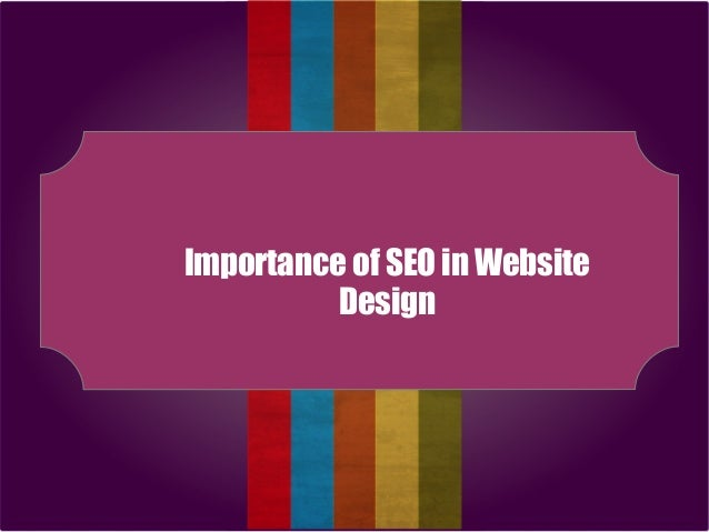 Importance of SEO in Website Design