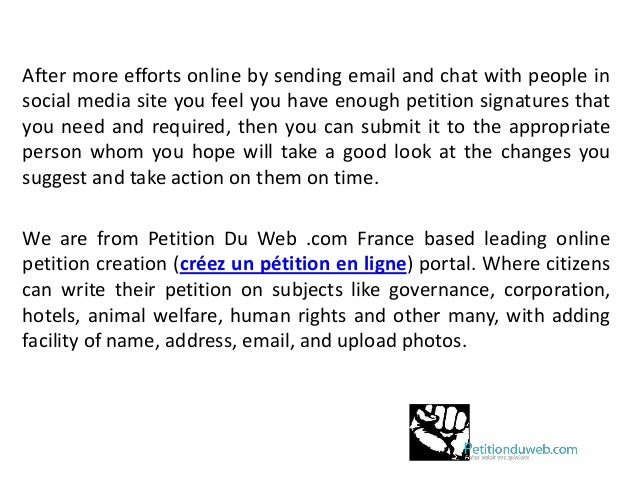 High Quality Importance Of Signature To Start An Online Petition