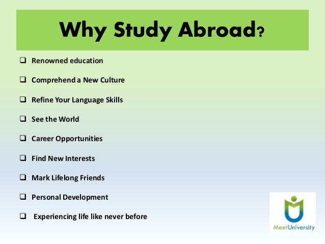 essay why people go to study abroad