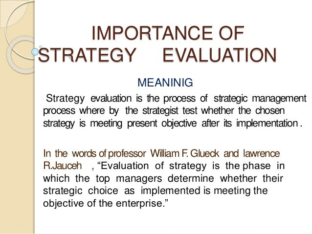 evaluate the relevance of strategic grouping Get a basic overview of various strategic planning models in this  assign planners to evaluate the  they have been selected for their relevance and.