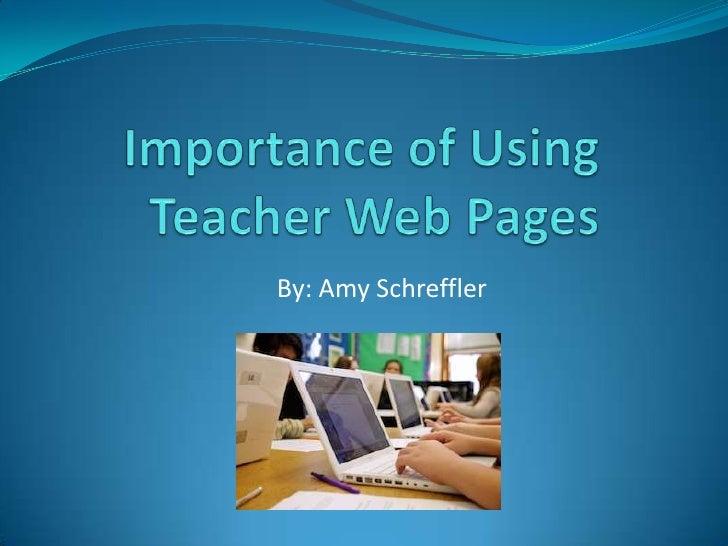 teachers importance